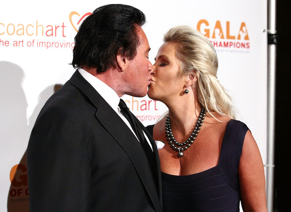 9th Annual Gala of Champions — Part 2 [gala of champions,forehead,interaction,event,formal wear,premiere,kiss,suit,love,romance,photography,arrivals,wayne newton,coachart,kathleen mccrone,beverly hills,california,the beverly hilton hotel,l,9th annual gala of champions]