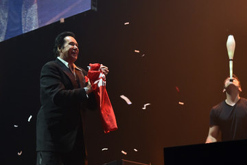 Wayne Newton The Killers with Wayne Newton Perform at Grand Opening of T-Mobile Arena