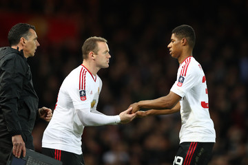 Wayne Rooney West Ham United v Manchester United - The Emirates FA Cup Sixth Round Replay