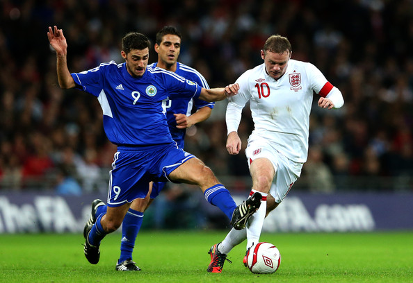 England v San Marino - FIFA 2014 World Cup Qualifier