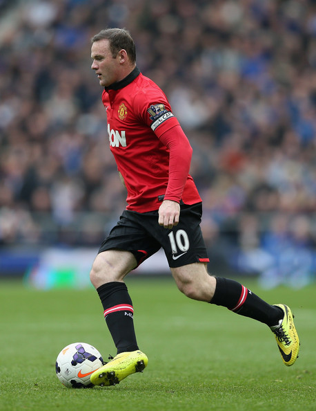 Wayne Rooney Vs Everton Wayne Rooney Wayne Rooney of Manchester United in action during the