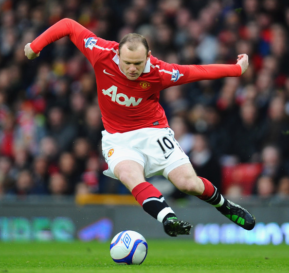 Wayne Rooney Arsenal Wayne Rooney Wayne Rooney of Manchester United controls the ball