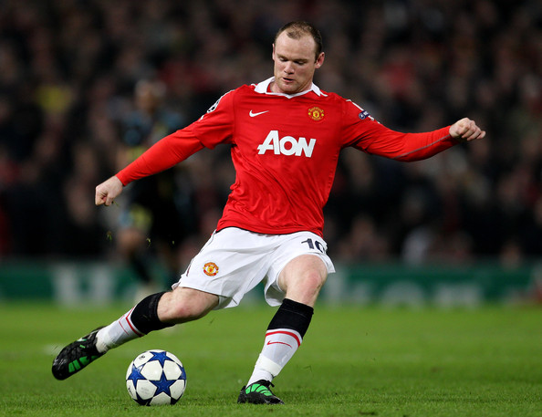 Wayne Rooney Football Wayne Rooney Wayne Rooney of Manchester United in action during the