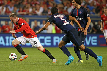 Wayne Rooney International Champions Cup 2015 - Manchester United v Paris Saint-Germain