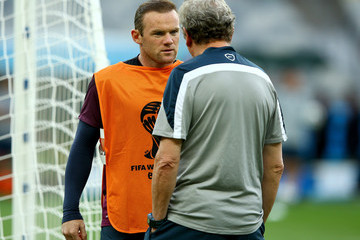 Wayne Rooney England Training Session