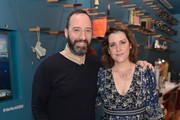 Tony Hale and Melanie Lynskey attend WeWork Congress during SXSW 2018 on March 10, 2018 in Austin, Texas.