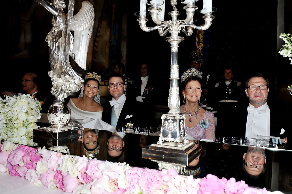 Queen Silvia And Princess Victoria Photos Wedding Of Crown Daniel Westling Banquet Inside Zimbio