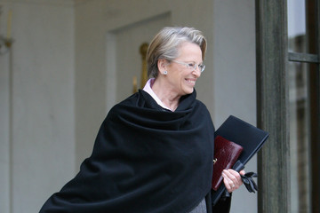 Michele Alliot-Marie Weekly French Cabinet Meeting At Elysee Palace - February 9, 2011
