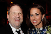 The Weinstein Company Co-Chairman Harvey Weinstein (L) and Marie Claire's Editor In Chief Anne Fulenwider attend the The Weinstein Company's 2013 Golden Globe Awards after party presented by Chopard, HP, Laura Mercier, Lexus, Marie Claire, and Yucaipa Films held at The Old Trader Vic's at The Beverly Hilton Hotel on January 13, 2013 in Beverly Hills, California.