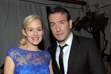 Penelope Ann Miller Jean Dujardin The Weinstein Company And Dewars Celebrate At A Private Party At The Chateau Marmont