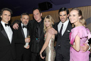 (L-R) Producer Lawrence Bender, actor Christoph Waltz, director Quentin Tarantino, actress Melanie Laurent, actor Eli Roth and actress Diane Kruger attend The Weinstein Company Golden Globes After Party held at Trader Vic's at The Beverly Hilton Hotel on January 17, 2010 in Beverly Hills, California.