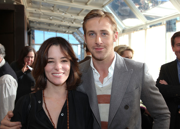"(L-R) Parker Posey and Ryan Gosling attend a luncheon to celebrate The Weinstein Company's ""Blue Valentine"" at Upstairs At The Kimberly Hotel on December 9, 2010 in New York City."