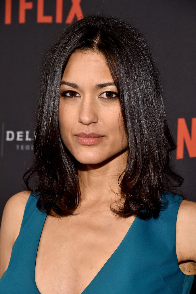 Julia Jones At Burberry Body Launch In Beverly Hills: The Weinstein Company And