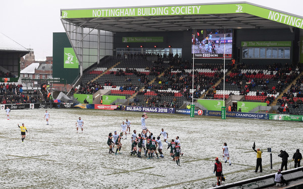Leicester Tigers v Racing 92 -  Champions Cup