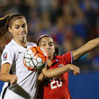 Wendy Acosta United States v Costa Rica: Group A - 2016 CONCACAF Women's Olympic Qualifying