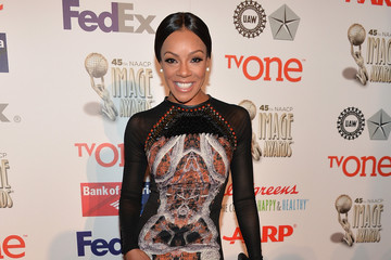 Wendy Raquel Robinson 45th NAACP Image Awards Non-Televised Awards Ceremony