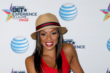 Wendy Raquel Robinson 2014 BET Experience At L.A. LIVE - Fan Fest - AT&T, Geico, Poetic Jeans, Sneaker Con, Tennis, Xbox, Health And Wellness, Nickelodeon, Opening Concert, Centric Centrified