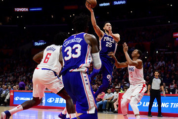Wesley Johnson Philadelphia 76ers v Los Angeles Clippers