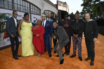 Wesley Snipes Craig Robinson L.A. Premiere Of Netflix's 'Dolemite Is My Name' - Red Carpet