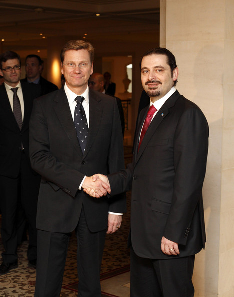 Saad al-Hariri BERLIN, MARCH 15: German Vice Chancellor and Foreign Minister
