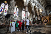 Westminster Abbey Dedicates A Memorial Stone To Nelson Mandela On His Centenary
