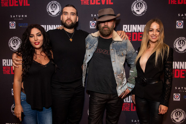 Premiere Of Quiver Distribution's 'Running With The Devil' - Red Carpet