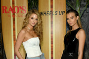 "Kate Bock (L) and Josephine Skriver attend as Wheels Up hosts an exclusive members-only dinners at the Wheels Up ""Rao's By The Beach"" Pop-Up Restaurant in collaboration with Rao's and W South Beach to celebrate Miami's big game on January 31, 2020 in Miami, Florida."