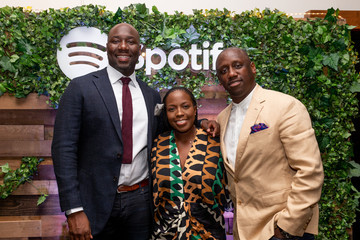 Whitney-Gayle Benta Spotify Honors Jermaine Dupri And Dallas Austin During Dinner At ONE Music Fest
