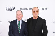 Michael Bloomberg and Michael Kors attend the Whitney Museum Of American Art Gala + Studio Party at The Whitney Museum of American Art on April 09, 2019 in New York City.