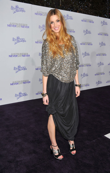 "Whitney Port Actress Whitney Port arrives at the premiere of Paramount Pictures' ""Justin Bieber: Never Say Never"" held at Nokia Theater L.A. Live on February 8, 2011 in Los Angeles, California."