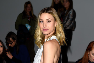 Whitney Port Day 2 - Front Row - LFW FW15