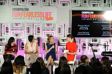 Whitney Wolfe Cosmopolitan Fun Fearless Life 2015 Presented By Maybelline New York In Partnership With #ActuallySheCan