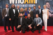 Cast and Crew attend the premiere of the film 'Who am I' at Zoo Palast on September 23, 2014 in Berlin, Germany.