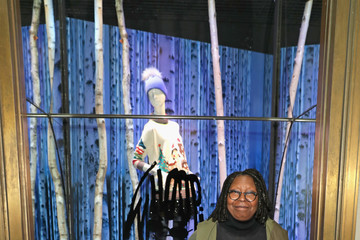 Whoopi Goldberg Lord & Taylor And Whoopi Goldberg Unveil Holiday Window Installation Featuring Exclusive Limited-Edition Sweater Collection