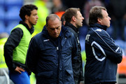 West Ham United Manager Avram Grant looks dejected during the Barclays Premier League match between Wigan Athletic and West Ham United at the DW Stadium on May 15, 2011 in Wigan, England.