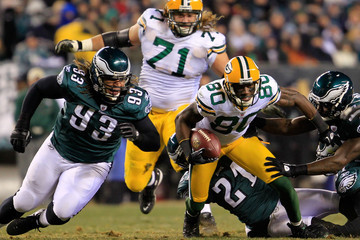Trevor Laws Wild Card Playoffs - Green Bay Packers v Philadelphia Eagles