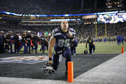 Tight end Jimmy Graham #88 of the Seattle Seahawks shortly before a game against the Detroit Lions at CenturyLink Field on January 7, 2017 in Seattle, Washington.