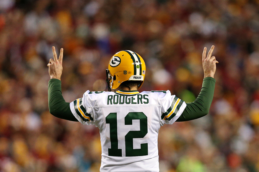 Aaron Rodgers Photos»Photostream · Main · Articles · Pictures · Wild Card  Round - Green Bay Packers v Washington Redskins dcaf56573