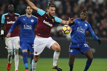 Wilfred Ndidi West Ham United v Leicester City - Premier League