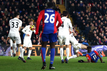 Wilfried Zaha Crystal Palace v Swansea City - Premier League