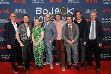 "Will Arnett Aaron Paul Netflix Presents ""The BoJack Horseman"" Finale Event"