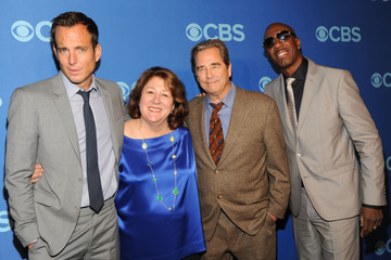 Will Arnett Margo Martindale Celebs Attend the CBS Upfront Event in NYC