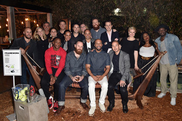 Will Brooks Spike TV Party with Common at Art Basel