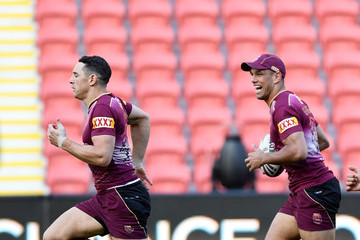 Will Chambers Queensland Maroons Captains Run