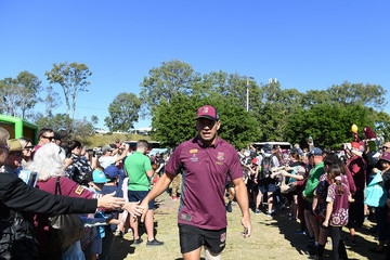 Will Chambers Queensland Maroons Fan Day