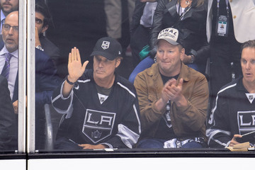 Will Ferrell 2014 NHL Stanley Cup Final - Game One