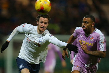 Will Keane Preston North End v Reading   - Sky Bet Championship