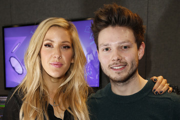 Will Manning Ellie Goulding Visits Kiss FM