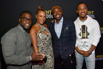 Will Packer Heather Hayslett Packer 'Night School' Red Carpet Screening With Kevin Hart And Will Packer At Regal Atlantic Station