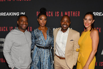 Will Packer 'BREAKING IN' Star And Producer Gabrielle Union, & Producer Will Packer Attend A Private Screening At Regal Atlantic Station In Atlanta